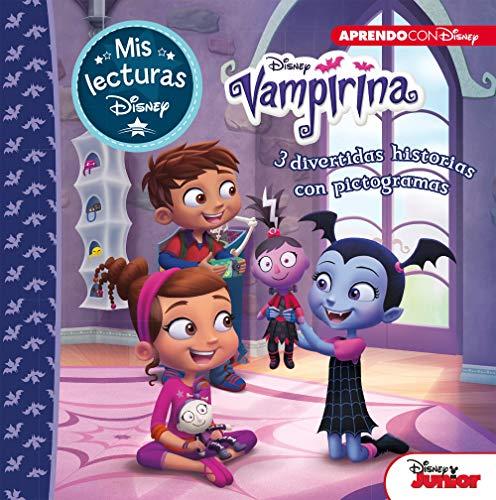 Vampirina (Mis lecturas Disney): 3 divertidas historias con pictogramas: Murcielaguitis, Retrato de una vampira y La fiesta de pijamas