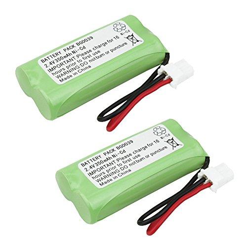2 Pack Fenzer Cordless Phone Batteries for Vtech BT162342 BT-162342