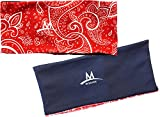 """Best Cooling Headbands - MISSION Enduracool Reversible Cooling Headband (3.75"""" Red Paisley) Review"""
