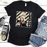 Bakugo Katsuki Shirt, My Hero Academia Shirt, Boku No Hero Academia T-Shirt, Bakugou, Japanese Tee, Anime Shirt,Streetwear Shirt,Deku