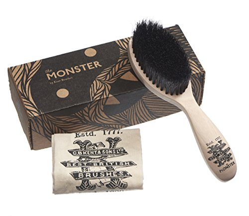 Kent Men's Beard and Mustache Brush - Specially...