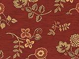 Landhaus Möbelstoff Ellmau Farbe 54 (rot-braun) mit
