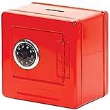 Tobar 28469 - Banco de dinero (metal, color rojo)