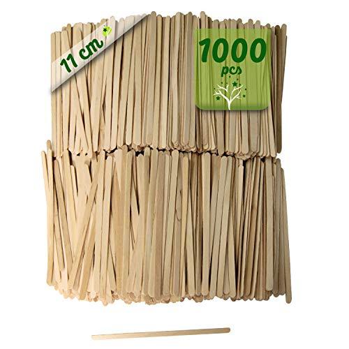 1000 bâtonnets de café en bois. ...