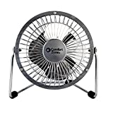 CCC COMFORT ZONE 4' High Velocity Desk top Fan, 4' Adjustable Cradle, Assorted