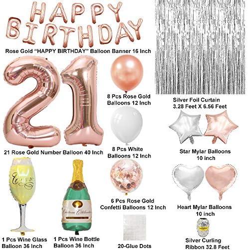 21 birthday decoration _image0