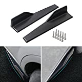 Aishun Dtouch Side Skirts Fits Universal Vehicles Black 450mm Exterior Side...