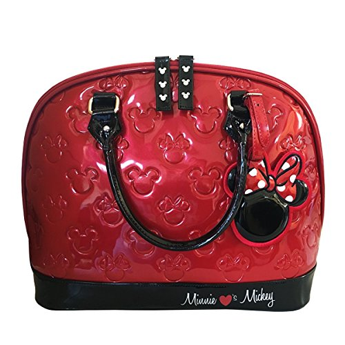 Loungefly Mickey and Minnie Purse Disney Embossed Bag Standard