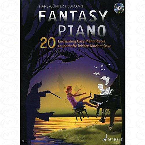 Fantasy Piano - arrangiert für Klavier - mit CD [Noten/Sheetmusic] Komponist : HEUMANN HANS GUENTER