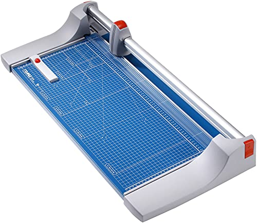 Dahle 444 Premium Rotary Trimmer, 26' Cut Length, 25 Sheet Capacity, Self-Sharpening, Automatic Clamp, German Engineered Paper Cutter