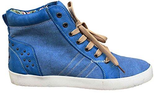 leichte Sneakers Leinenschuhe Tennisschuhe Turnschuhe Sportswear EVEN & ODD (38)