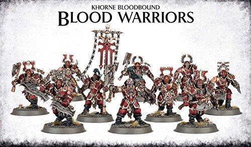 Games Workshop Warhammer Age of Sigmar: Khorne Bloodbound Blood Warriors