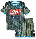 SSC Napoli Kit de segunda equipación para niños temporada 2019/2020