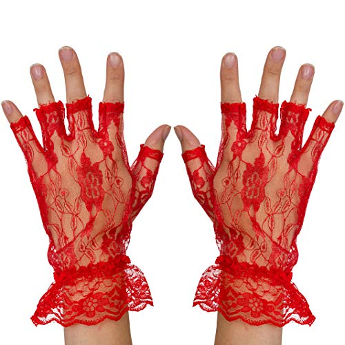 Guantes Sin Dedos Niña marca Skeleteen