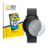 BROTECT 2X Entspiegelungs-Schutzfolie kompatibel mit Pebble Time Ro& Bildschirmschutz-Folie Matt, Anti-Reflex, Anti-Fingerprint