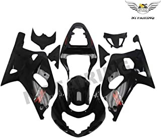 NT FAIRING Glossy Black Injection Mold Fairings Fit for Suzuki 2001 2002 2003 GSXR 600 750 K1 01 02 03 GSX-R600 Aftermarket Painted Kit ABS Plastic Motorcycle Bodywork
