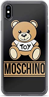iPhone X/XS Pure Clear Case Cases Cover Moschino 1