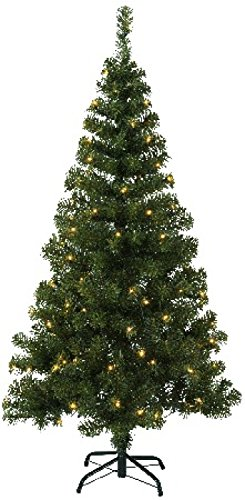Best Season 609-03 Ottawa - Albero di Natale in Abete, Illuminato LED