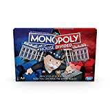 Monopoly House Divided Board Game: Elections and White House Themed Game; Board Game for Families and Kids Ages 8 and Up