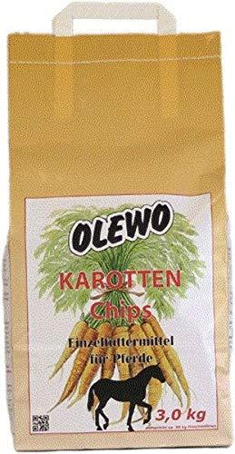 Olewo Jetons de carotte 3 kg.