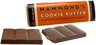 Hammonds Hammond's Cookie Butter Candy Bar 2.25 Oz Milk Chocolate With Speculoos Ginger Cookie Cream Filling