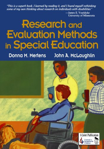 Compare Textbook Prices for Research and Evaluation Methods in Special Education 1 Edition ISBN 9780761946533 by Mertens, Donna M.