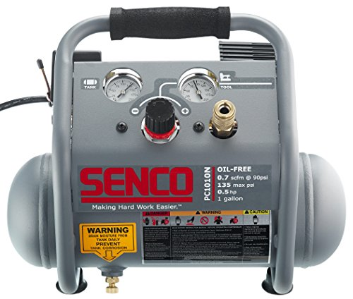 Senco PC1010N 1/2 Hp Finish & Trim Portable Hot Dog Compressor