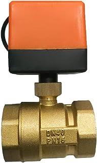 volflashy DC12V 3線式 2制御 真鍮 スレッド 電動 ボール バルブ ソレノイド 電動 バルブ
