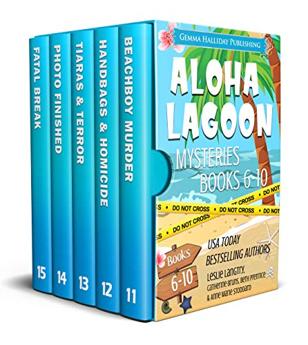 Aloha Lagoon Mysteries Boxed Set (Books 11-15) by [Sally J. Smith, Jean Steffens, Anne Marie Stoddard, Dane McCaslin, Kimberly Griggs, Beth Prentice]