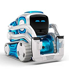 Cozmo is a real-life robot like you've only seen in the movies and he's ready to be your loyal sidekick Cozmo new Limited Edition Interstellar Blue finish is the perfect complement to his adventurous personality Challenge Cozmo to games, or use Explo...
