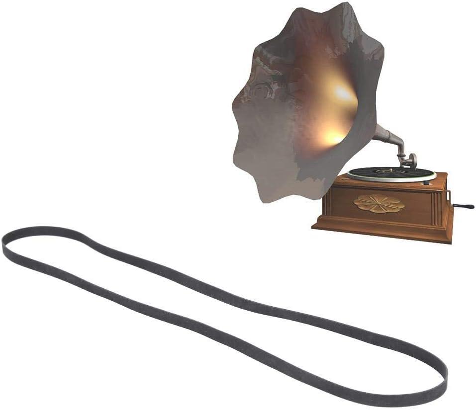 sch/ön f/ür Plattenspieler-Stereolautsprecher Plattenspieler-Zubeh/ör Jingyig Riemenantrieb