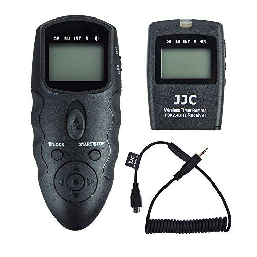 JJC disparador remoto temporizador mandos a distancia para Fujifilm X-T2 X-Pro2 X-T1 X-T10 X-E2S X-E2 X-A3 X100T X-M1 X-A2 X-A1 XQ2 XQ1 X70 X30 FinePix S1 cámaras digitales