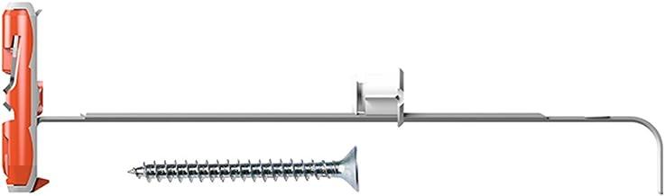 Fischer 540175 gipskartondplug Duotec 10 S K met schroef, grijs
