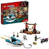 LEGO Juniors - Lego Persecución en la lancha ninja de Zane (10755)