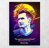 ZFLSGWZ Fußballspieler Poster Miroslav Klose Poster