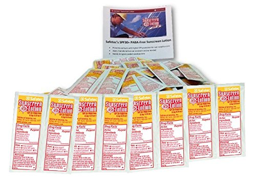 Sunscreen Lotion 100 Packets SPF30+ and PABA-Free
