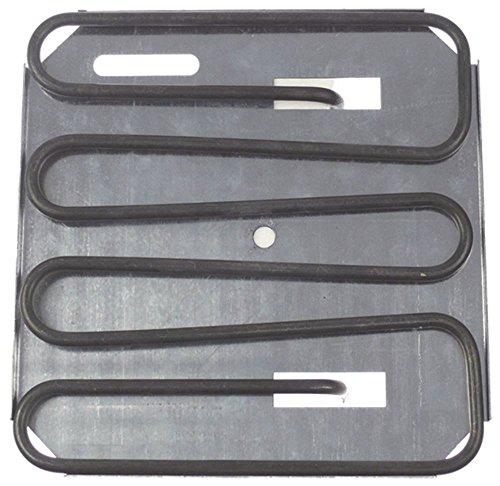 GMG Heizkörper für Kontaktgrill 1100W 220V Länge 208mm Breite 210mm Höhe 35mm Anschluss M4 Anschlussabstand 139mm 4 Windungen