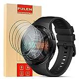 PULEN [4 Pack] Huawei Watch GT 2e Pellicola Protettiva, in vetro Temperato Premium 9H protezione scratch Resistente [Anti-riflesso Ultra-Clear][Anti-Impronte] [Senza Bolle]Per Huawei Watch GT 2e