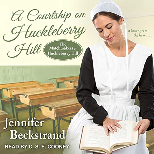 A Courtship on Huckleberry Hill audiobook cover art