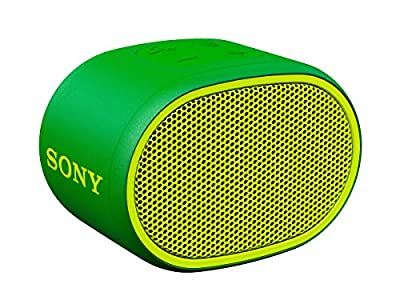 Sony SRS-XB01 Compact Portable Water Resistant Wireless Bluetooth Speaker with Extra Bass - Green by Sony