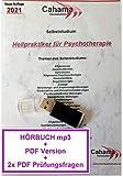 Heilpraktiker Psychotherapie HÖRBUCH MP3 + PDF Selbststudium + Fragen USB-Stick, Version Februar 2021