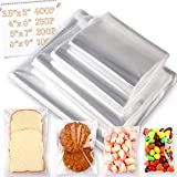 950 PCS Clear Resealable Cellophane Bags 4 Sizes with 3.5×5,4×6, 5×7, 6×9 Inches Good for Bakery, Snacks, Candle, Soap, Cookie, Jewelry, Cards