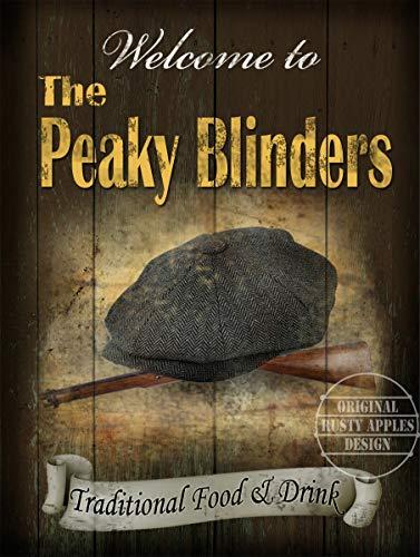 La plaque en métal vintage Peaky Blinders