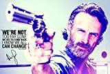 CX Andrew Lincoln Zitat Foto gedrucktes Poster –