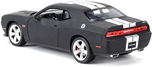 MXueei Alliage Modèles Voitures 1 24 Dodge 2012 Challenger Original Style Collecteurs Moulés sous Pression Modèle De Décoration De Voiture Artisanat