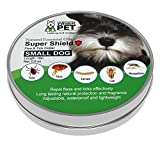 Natural Flea Collar for Small Dogs | Prevent and Control Fleas, Ticks, Lice and Insects | All Natural Chemical and Toxin Free | Safe for Pets and Family | Long Lasting up to 180 days!