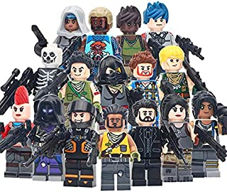 16 Forthero Blocks Action Figures - Fort Battle Figures Sets - All Heroes from Game
