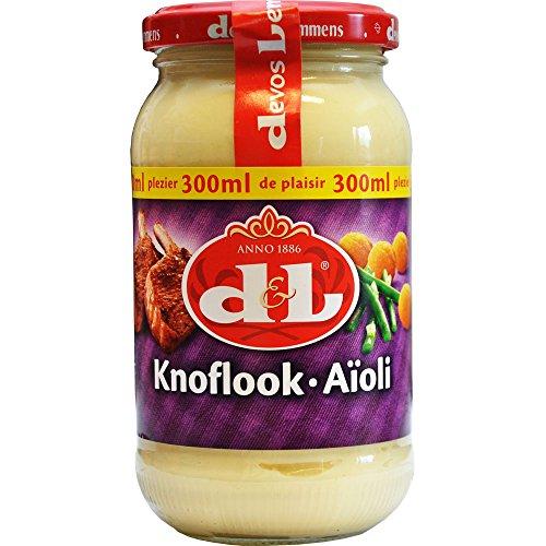 Devos Lemmens Knoflook Saus - Knoblauch Soße, 300ml