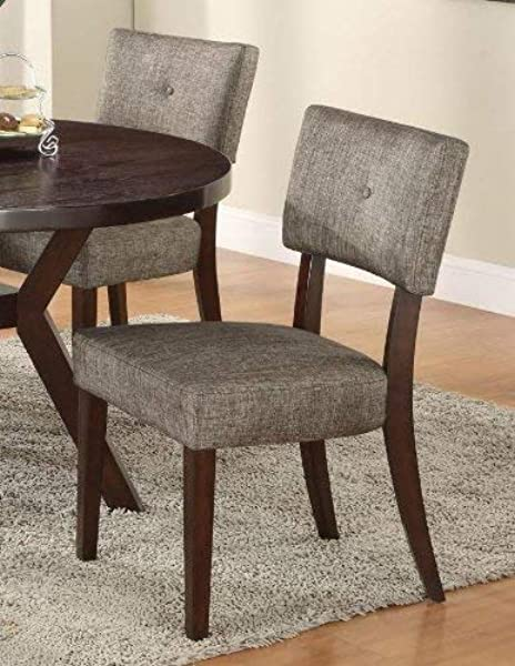 ACME 16252 Set Of 2 Drake Espresso Side Chair 36 Inch