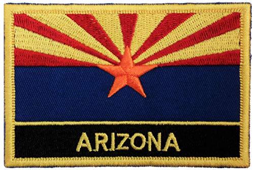 1000 Flaggen Arizona State USA Flagge Bestickt rechteckig